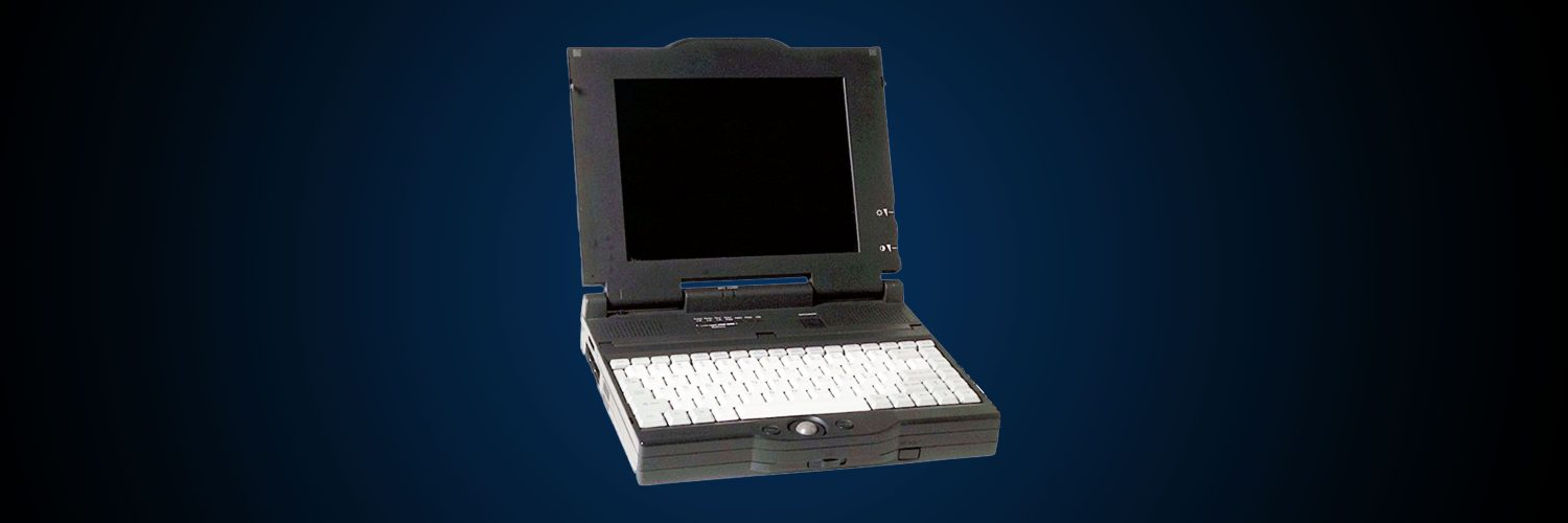 Alter Laptop